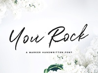 You Rock Handwritten Font