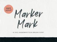 Marker mark presentation