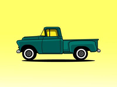 Chevrolet 3100 Pickup Truck in 1957