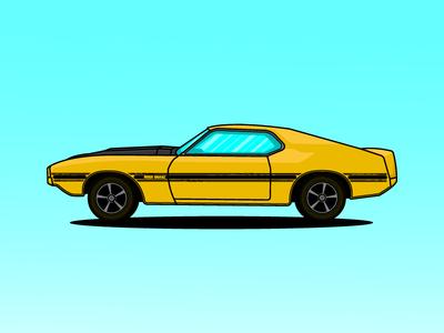 Ford Mustang Boss Snake 1970