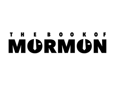 Book of Mormon Type Lockup shillo melbourne shillington melbourne shillington concept brief broadway type package typography graphic design design book of mormon type lockup
