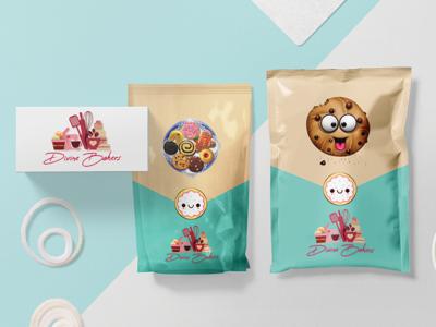 Bakery Branding and Packaging -  Divine Bakers