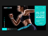 Faith Fit - Landing Page