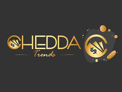 💲 Chedda Trends colors illustration wordmark logo cash identity design design branding typography vector logo