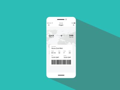 ✈Ticket Booking App UI