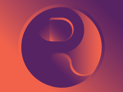 R Letter Logo branding iconset letter graphic art graphic flat web typography logo icon vector art