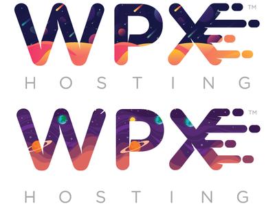 WPX Letter Logo Versions logo design letter logo letter hosting design vector typography graphic design website web illustration branding icon flat logo web