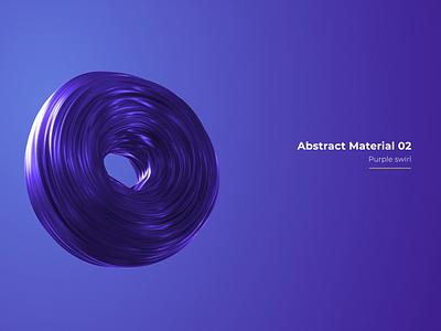 Abstract Materials vol. 01 - Purple Swirl bg render abstract render 3d design minimal clean 3d render shadow light purple 3d animation dynamic abstarct 3dart render cinema 4d octane animation 3d design