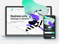 Landing page & mobile