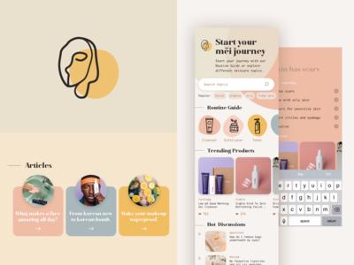 Beauty App - Mei