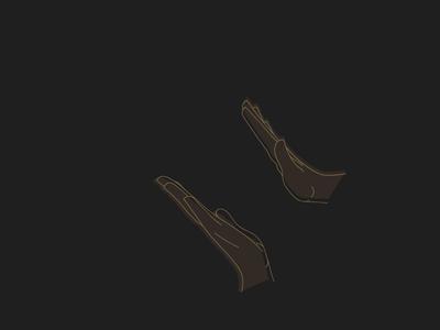 Handimation hands svg animation