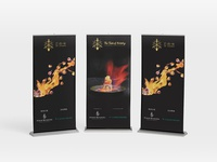 Four Seasons Event, Banner Design