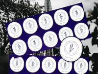 Lavandin Provence Sticker design