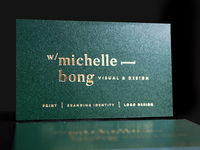 Name Card Design - Michelle Bong