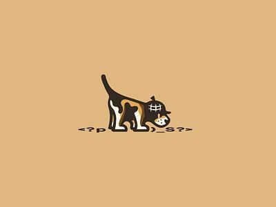 Beagle Code Sniffer logo clean branding graphic design