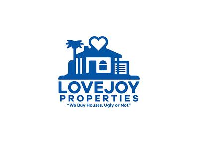 LOVEJOY PROPERTIES simple clean branding graphic design