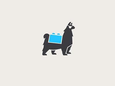 Pirate Llama Toyshop Mark Mascot concept simple clean logo branding graphic design