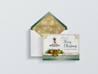 Mountain of the Gods Christmas Card