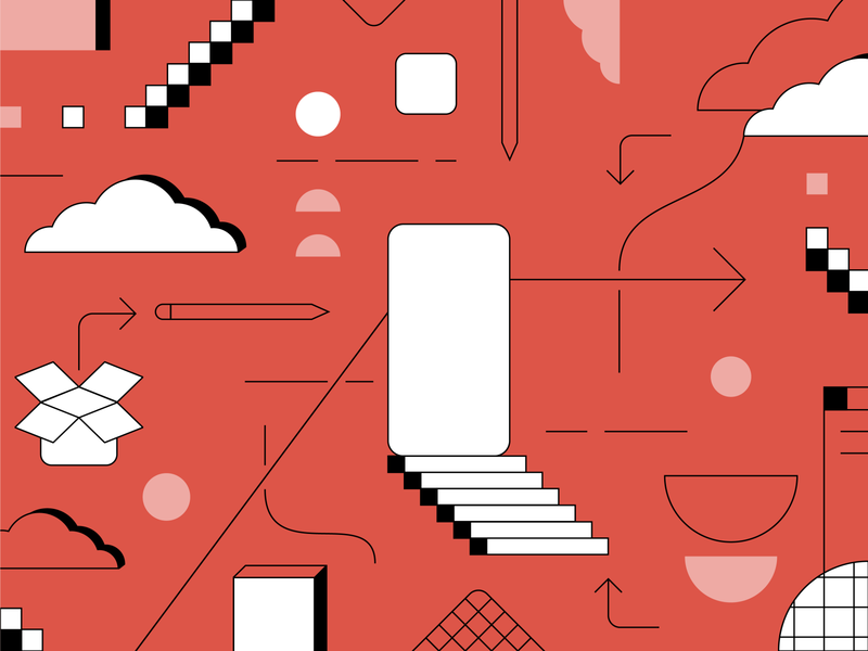 How to Build an App Illustration