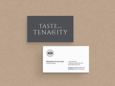 T&T businesscards graphic design print collateral business card design business cards logo design design brand identity
