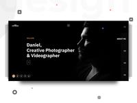 Photographer template (Header)