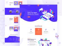 Seo Digital agency landing page