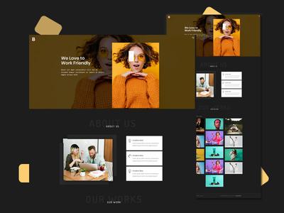 Beloon - Portfolio Template clean design portfolio design portfolio website web modern