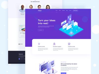 Agency Creative WordPress Theme