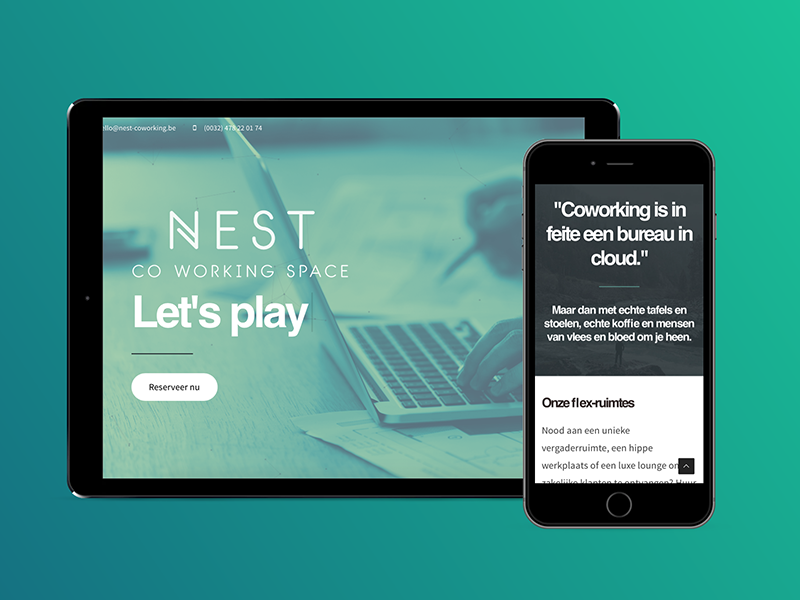 Luxe Lounge Stoel.Nest Webdesign By Quinten Braem On Dribbble