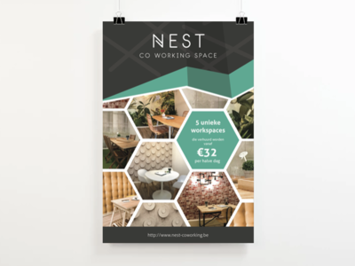 Nest Co-working Flyer
