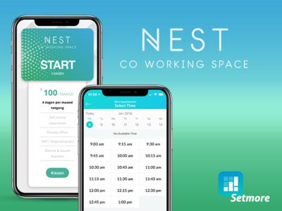 App advertisement | Coworking booking