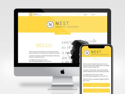 Nest Graphic Design New Logo