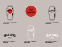 Dead Stock 1993 Logo Variations digital illustration digital flash illustration branding design brand identity branding vintage tattoo logo variations logo design logo