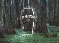 Dead Stock 1993 Logo in White graphic design design visual identity brand identity logo design white logo logo branding digital art digital illustration illustration digital