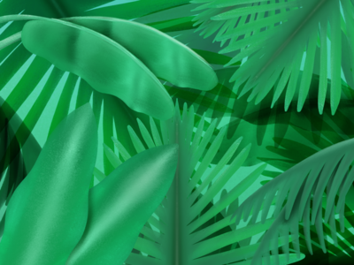NOLA Foliage Illustration