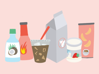 Food & Beverage Blog Illustration