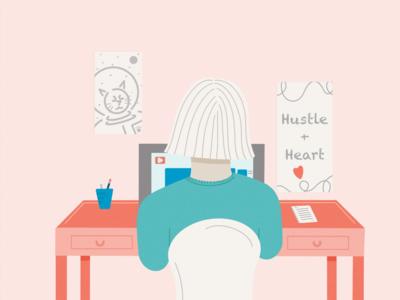 influencer marketing illustration