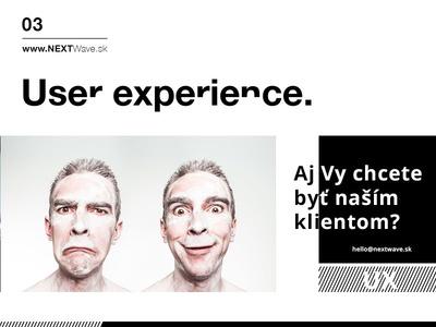 User experience by NEXTWave