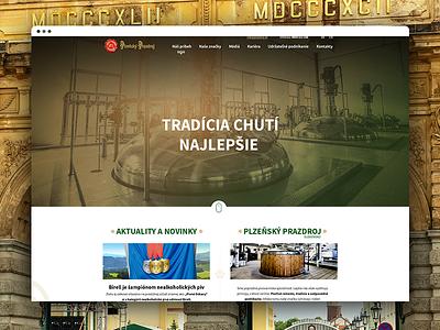 Pilsner the blond lager humanresource concept beer website visual page landing illustration homepage design