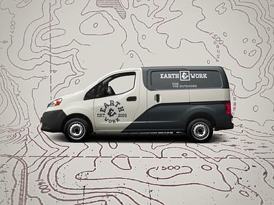 Earthwork in-use branding logo design