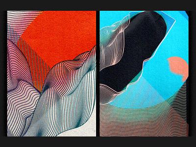 Assumption & Perspective. Detail. banner art vector branding design poster art line inverse abstract poster