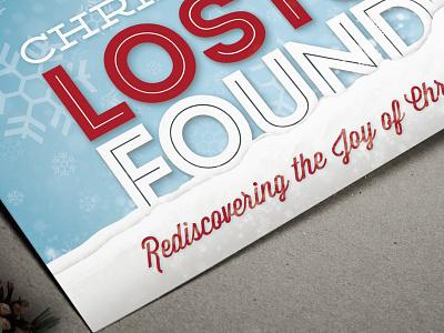 Lost & Found illustration church print christmas