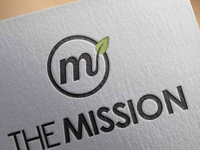 The Mission brand identity branding church logo design