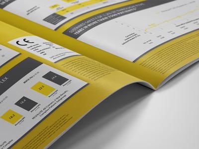 Medtronic print layout brochure