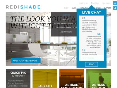 RediShade Web Design ux design web design