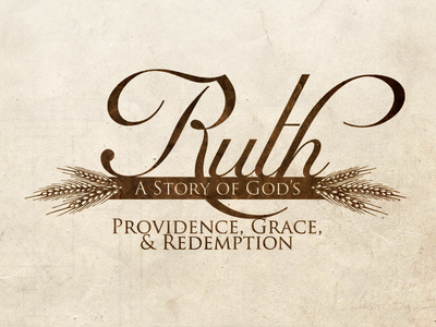 Ruth ruth bible study series