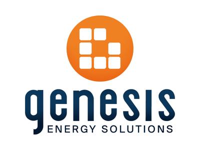 Genesis Energy Solutions branding logo design