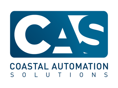 Coastal Automation Solutions branding logo design brand identity