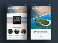 Travel simple UI