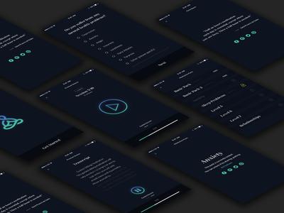 Meditation Mobile UI